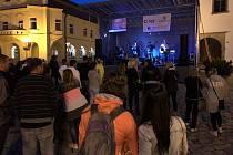 Páteční koncerty o letních prázdninách v Pelhřimově.