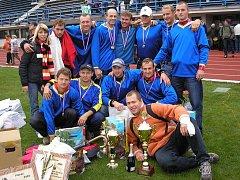 V loňském roce se mužské družstvo hasičů z Počátek radovalo. Zvítězili na mistrovství republiky v požárním sportu, které se konalo v Přerově.