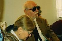 Otomar Krejča s manželkou