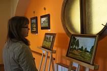 Výstava Ladislava Kulhavého v Galerii M.