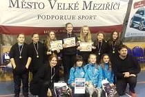 Turnaj ve Velkém Meziříčí vyhrálo družstvo DHK Slavoj Žirovnice.