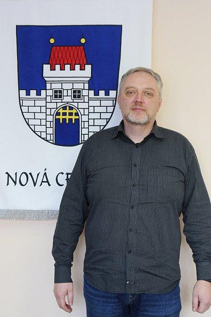 Starosta Nové Cerekve Zdeněk Rajdlík.