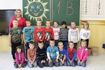 Na fotografii jsou žáci ze ZŠ Počátky, třída 1. B paní učitelky Hany Rudišarové. Příště představíme prvňáčky ze ZŠ Rynárec