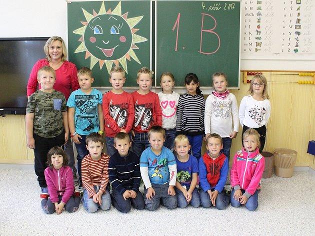 Na fotografii jsou žáci ze ZŠ Počátky, třída 1.B paní učitelky Hany RudišarovéPříště představíme prvňáčky ze ZŠ Rynárec