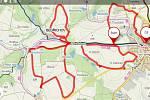 Upravené trasy pro běžkaře jsou i v Pacově.