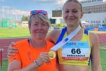 Dorota Skřivanová byla oporou pacovského týmu.