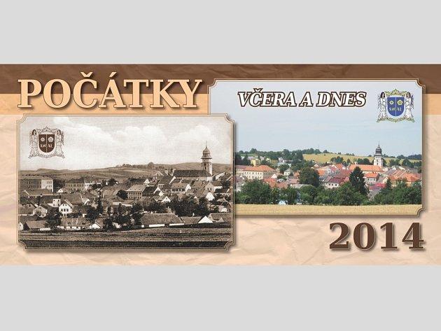 Stolní kalendář Počátek pro rok 2014 .