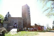 Zřícenina hradu Orlík, ilustrační foto