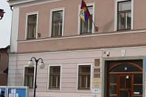 Tibetská vlajka v Kamenici nad Lipou
