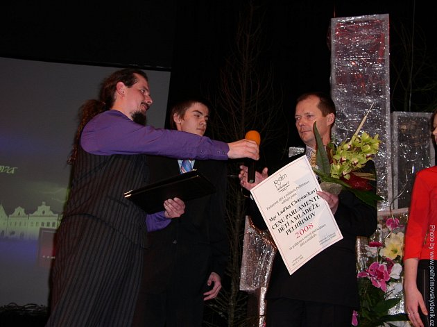 Slavnostní vyhlášení cen města Pelhřimova