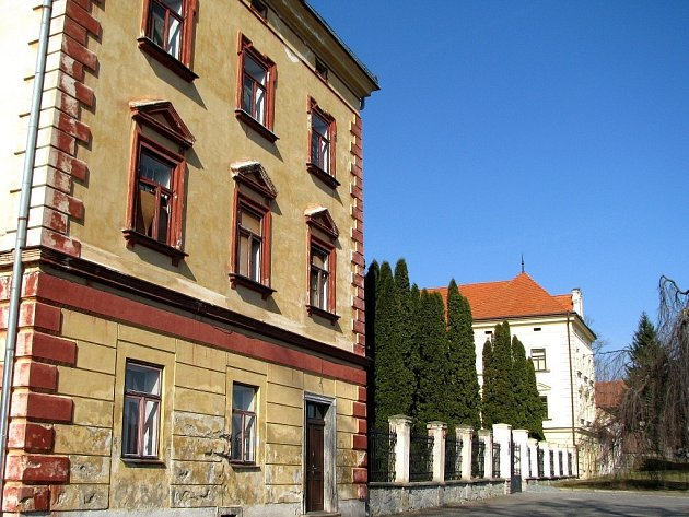 Zámek v Pacově.