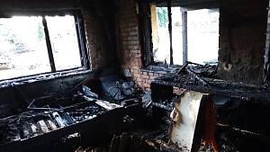 Požár v Kramolíně