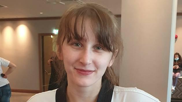 Dominika Hronová vybojovala na mistrovství Evropy pátou příčku.