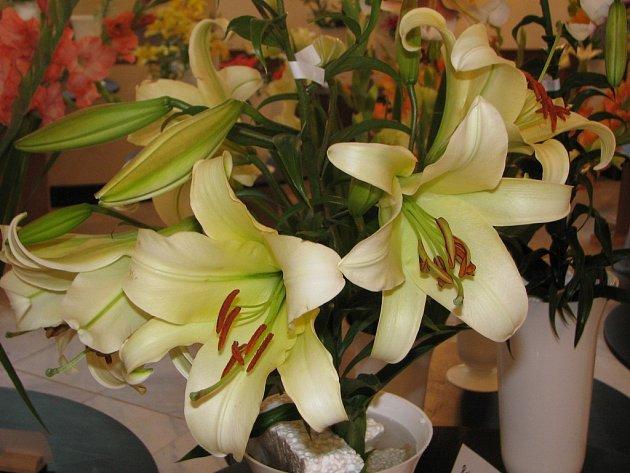 Výstava řezaných květin v Žirovnici