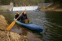 Vodáci odemkli řeku Želivku