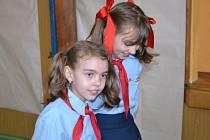 Děti se oblékly do tradičních i originálnějších kostýmů a vyrazily na maškarní karneval.