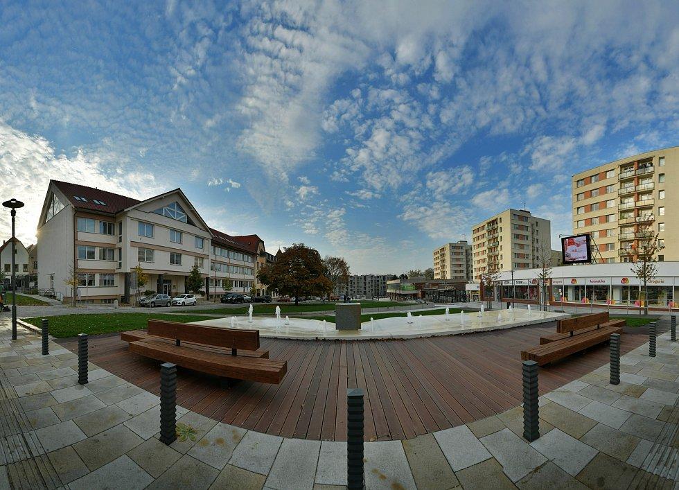 Druhá etapa rekonstrukce Smetanova náměstí v Havlíčkově Brodě