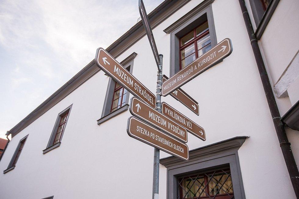Masarykovo náměstí v Pelhřimově.