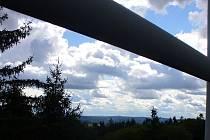 Rozhledna Pípalka nabízí krásný výhled do okolí.