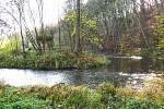 Soutok řeky Trnavy a Želivky. Foto Miroslav Galko