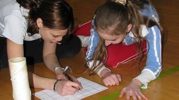 Hry bez hranic pro děti od osmi do patnácti let v Počátkách. 19. dubna 2008