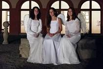 V želivském klášteře už návštěvníci při prohlídkách viděli i anděly.