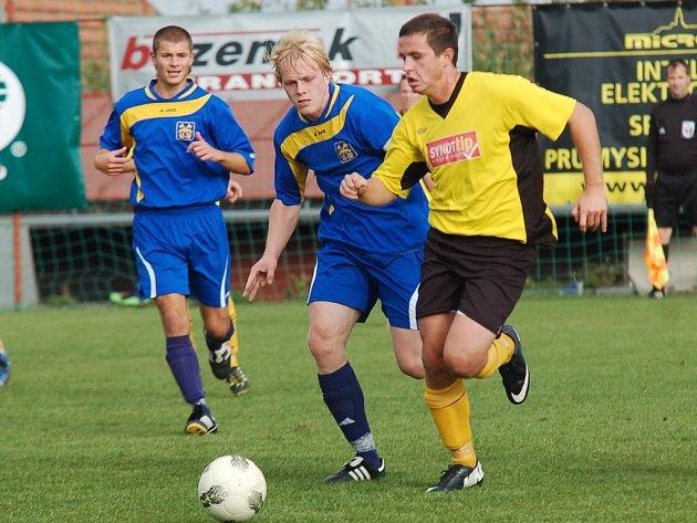 Fotbalisté Pacova a Chotěboře se letos o body podělili. Oba zápasy skončily smírnými výsledky 1:1.