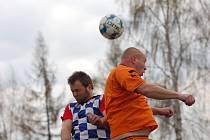 Fotbalisté Počátek odvezli body z Budíkova. Pomohly jim k tomu dva góly v závěru zápasu.