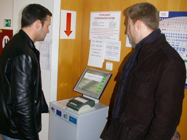 Odstávka registru vozidel v Pelhřimově.