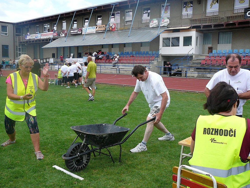 Hry seniorů se konaly v Olomouci.