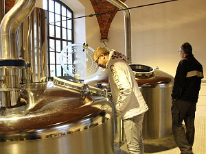 Slavnostní otevření pivovaru