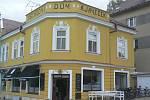 Černovická cukrárna Café Budík.