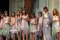 Opera Rusalka v podání žáků základní školy Na Osvobození v Pelhřimově