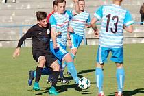 Snahu fotbalistům Humpolce vytknout nelze. Za příkladnou bojovnosti si bod proti favorizovanému a fotbalově vyspělejšímu Žďáru zasloužili.