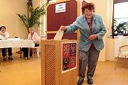 Volby v Červené Řečici.
