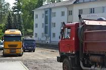Od středy 14. května platí v ulici Žižkova v Humpolci dopravní uzavírka.