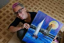 Zuzana Kubáňová malovat rozhodně umí.