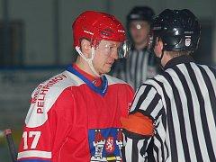 Jiří Kubát je v osmatřiceti letech nezkušenějším hráčem Ledních Medvědů.