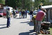 Burza auto-moto-velo v Kamenici nad Lipou.