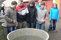 Děti ze Základní školy Za Branou v Pacově.