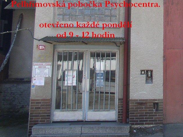 Budova Pelhřimovského Psychocentra