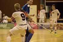Florbalisté Pelhřimova v Ostravě nezaváhali a svůj účet v I. lize vylepšili na osmnáct bodů.