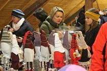 Vánoční jarmark v Kamenici.