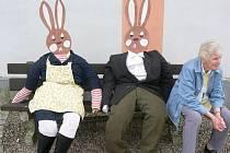 Téměř tisíc návštěvníků si v neděli odpoledne nenechalo ujít tradiční Velikonoce na zámku v Žirovnici.