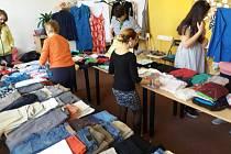 V Pelhřimově se v sobotu 30. března uskutečnila třetí výměna oblečení.