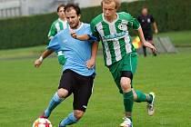 Fotbalisté Kamenice nad Lipou si užívají skvělou sezonu. Po vítězství v Habrech se posunuli na druhou příčku tabulky.
