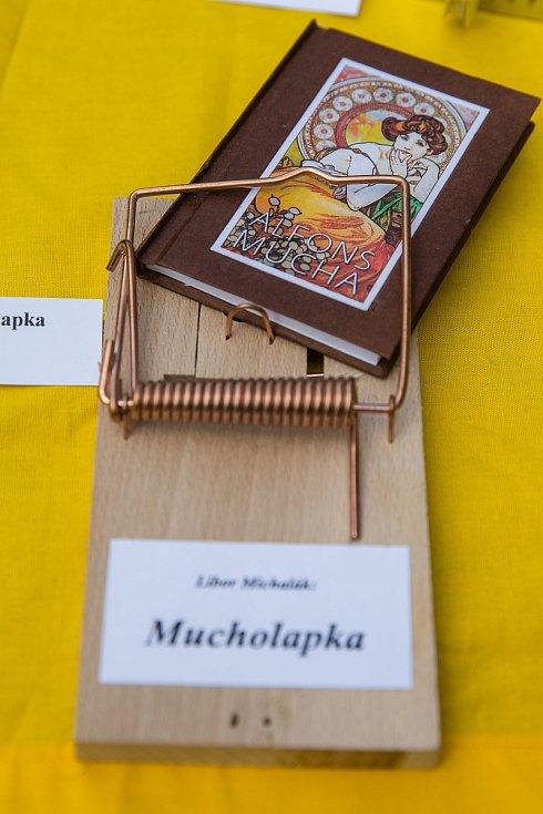Největší kolekce autorských knižních vazeb pana Libora Michaláka.