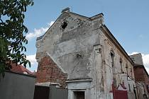 Pacovská synagoga.
