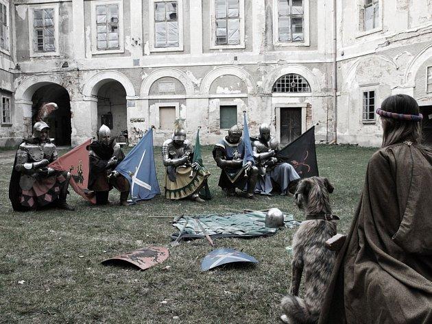 Sígři na zámku v Červené Řečici