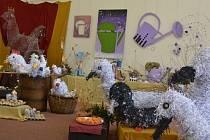 V sále humpolecké muzea na Dolním náměstí vystavují svá díla žáci humpolecké základní umělecké školy a humpoleckého gymnázia.